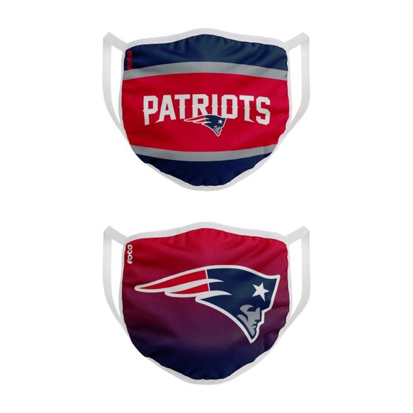 NEW Never used New England Patriots Face Masks